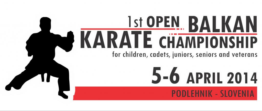 1st Open Balkan Championship 2014
